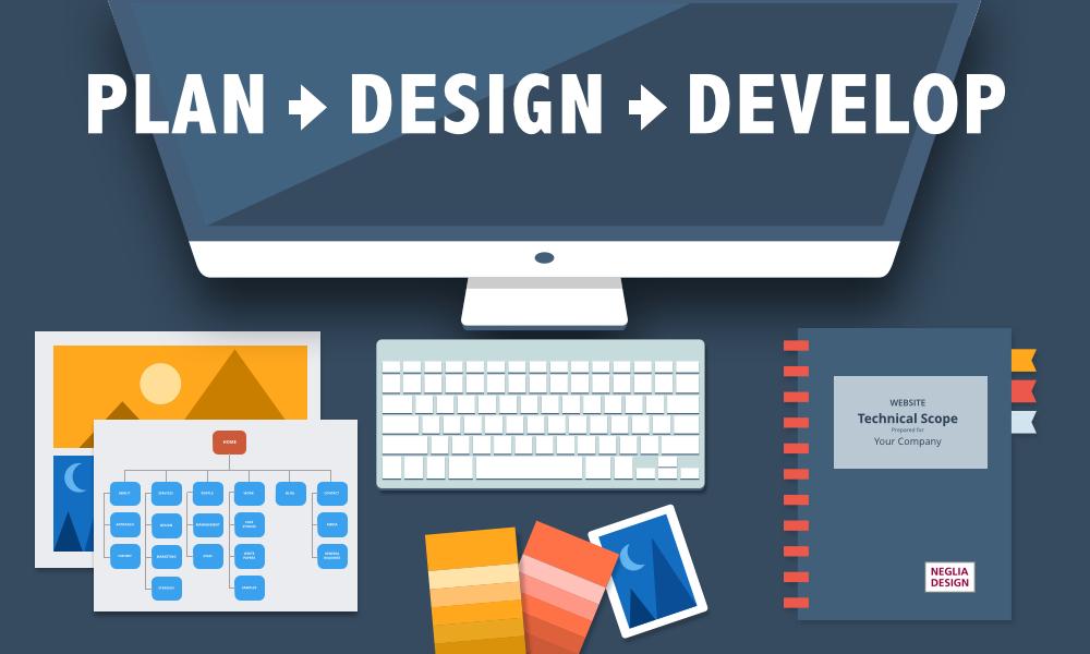 process of website development - Cornerstone Digital